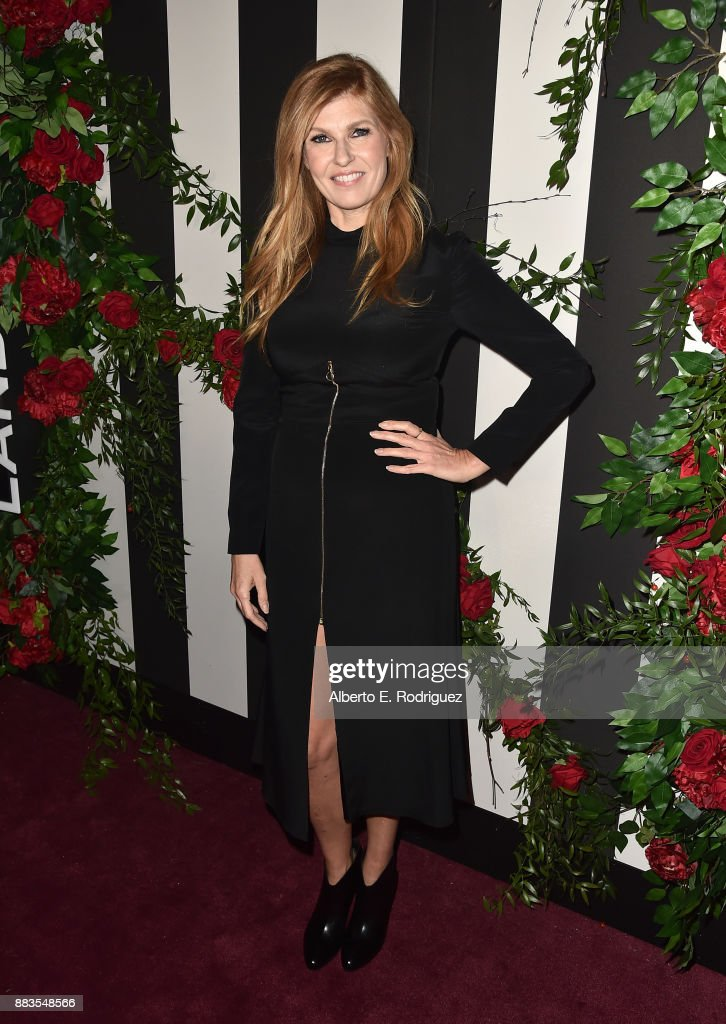 Actress Connie Britton attends the Land of distraction Launch event at Chateau Marmont on November 30, 2017 in Los Angeles, California.