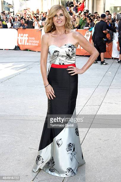Actress Connie Britton attends the 'Miss Julie' premiere during the 2014 Toronto International Film Festival at Roy Thomson Hall on September 7 2014...