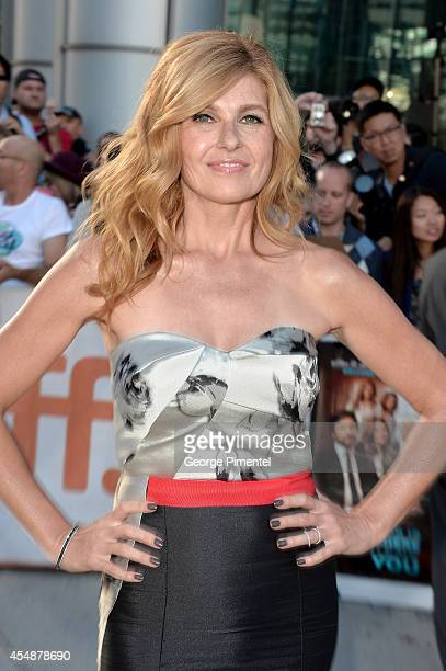 Actress Connie Britton attends the 'This Is Where I Leave You' premiere during the 2014 Toronto International Film Festival at Roy Thomson Hall on...
