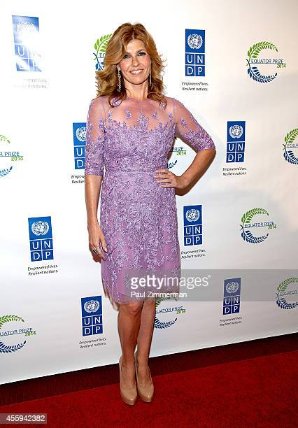 Actress Connie Britton attends The United Nations 2014 Equator Prize Gala at Avery Fisher Hall Lincoln Center on September 22 2014 in New York City