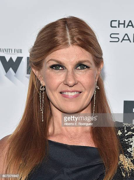 Actress Connie Britton attends the Vanity and FX Annual Primetime Emmy Nominations Party at Craft Restaurant on September 17 2016 in Beverly Hills...