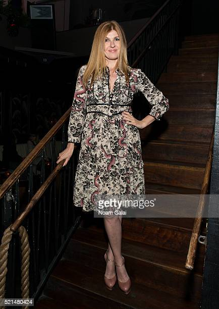 Actress Connie Britton attends the 'Wolves' after party during 2016 Tribeca Film Festival at No 8 on April 15 2016 in New York City