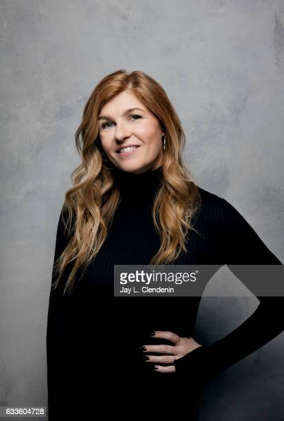 Actress Connie Britton from the film Beatriz at Dinner is photographed at the 2017 Sundance Film Festival for Los Angeles Times on January 23 2017 in...