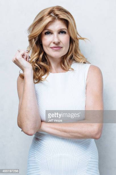 Actress Connie Britton is photographed for a Portrait Session at the 2014 Toronto Film Festival on September 9 2014 in Toronto Ontario