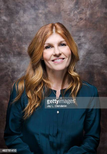 Actress Connie Britton is photographed for Los Angeles Times on January 24 2015 in Park City Utah PUBLISHED IMAGE CREDIT MUST READ Jay L...