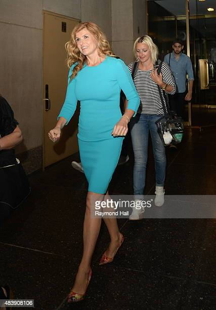 Actress Connie Britton is seen outside the Today Show on August 13 2015 in New York City