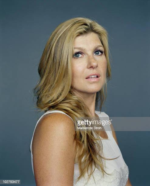 Actress Connie Britton poses for a portrait session at the Toronto Film Festival in September 2006 for Life Magazine