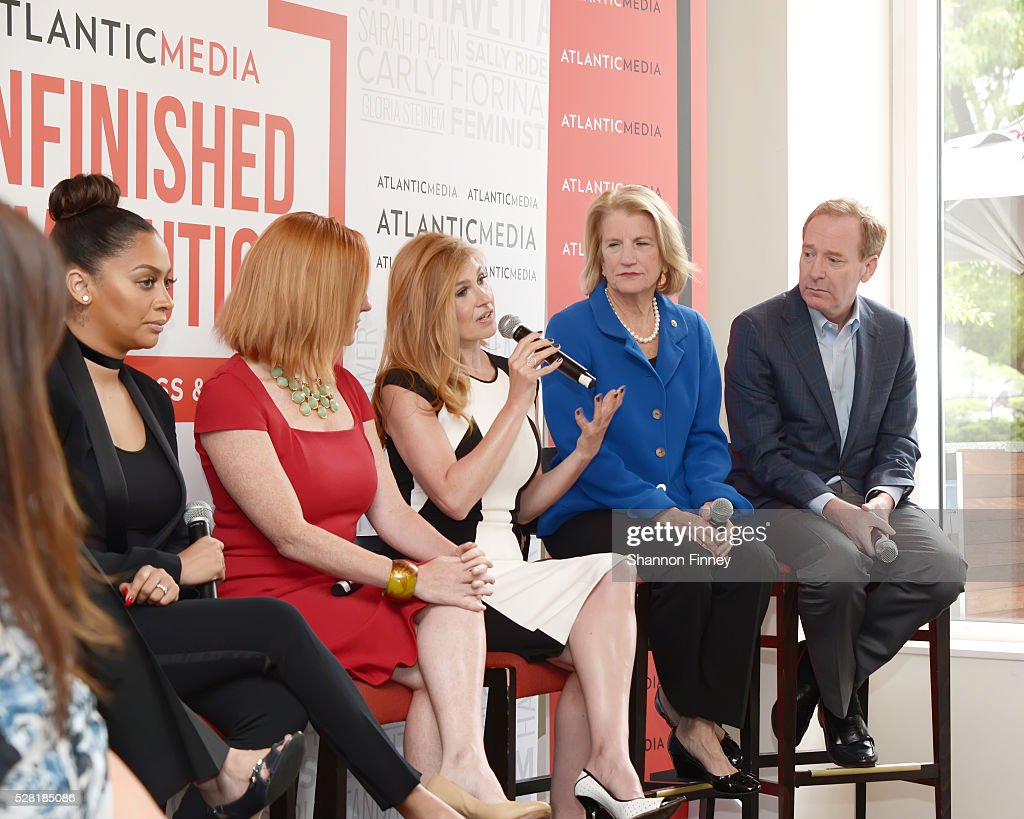 Atlantic Media Breakfast - 2016 White House Correspondents' Association Dinner : News Photo