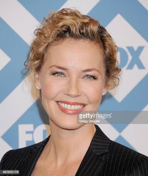 Actress Connie Nielsen arrives at the 2014 TCA winter press tour FOX allstar party at The Langham Huntington Hotel and Spa on January 13 2014 in...