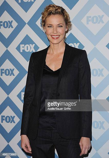 Actress Connie Nielsen attends the FOX AllStar 2014 Winter TCA Party at The Langham Huntington Hotel and Spa on January 13 2014 in Pasadena California