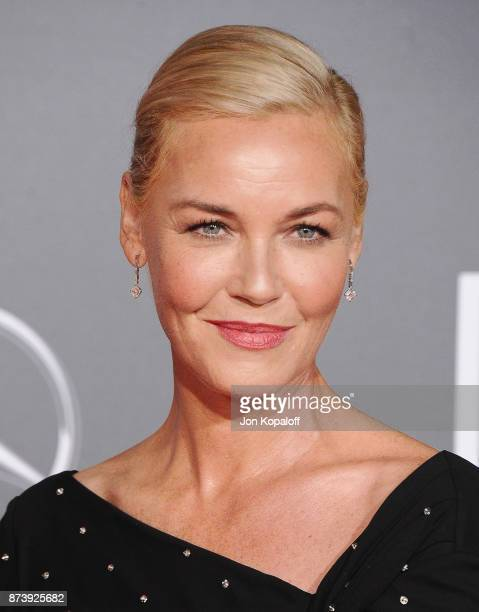 Actress Connie Nielsen attends the Los Angeles Premiere of Warner Bros Pictures' Justice League at Dolby Theatre on November 13 2017 in Hollywood...