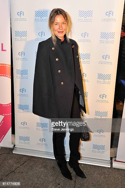 Actress Connie Nielsen attends the premiere screening of 'The Confessions' at the 39th Mill Valley Film Festival at Cinearts @ Sequoia on October 14...