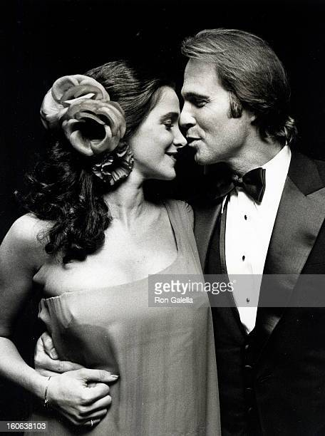 Actress Connie Sellecca and actor Gil Gerard attending Party for 33rd Annual Primetime Emmy Awards on September 13 1981 at the Bonaventure Hotel in...