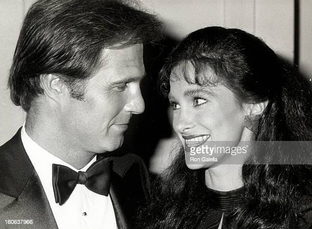 Actress Connie Sellecca and actor Gil Gerard attending 'The Fabulous Image Makers Awards Gala' on March 27 1982 at the Pasadena Civic Auditorium in...