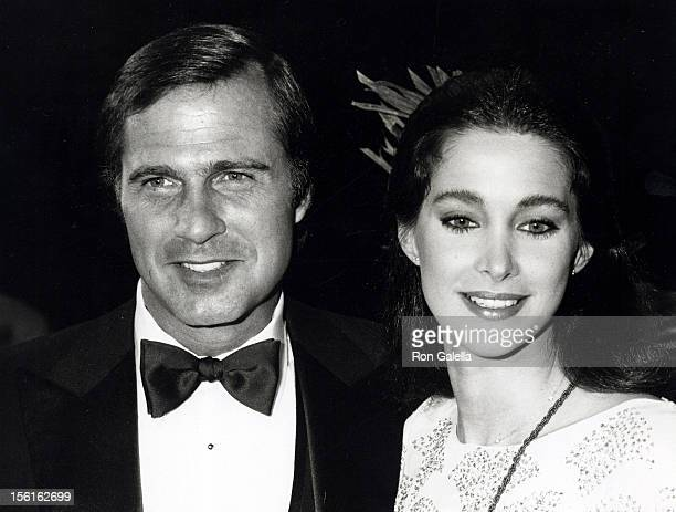 Actress Connie Sellecca and actor Gil Gerard attending the taping of 'Celebrity Challenge of the Sexes' on March 23, 1980 at Mt. Sac Gym at San...