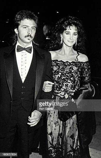 Actress Connie Sellecca and brother attending Carousel of Hope Ball on October 13 1984 at Currigan Hall in Denver Colorado