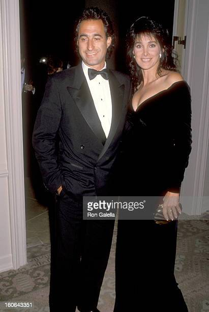 Actress Connie Sellecca and Hollywood Agent Alan Iezman attend The Maple Center's Annual Distinguished Community Service Award Gala Honoring Carol...