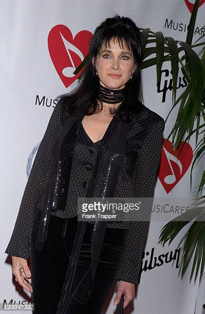 Actress Connie Sellecca arrives at MusiCares Person of the Year tribute to musician and composer Brian Wilson held at the Palladium in Hollywood....