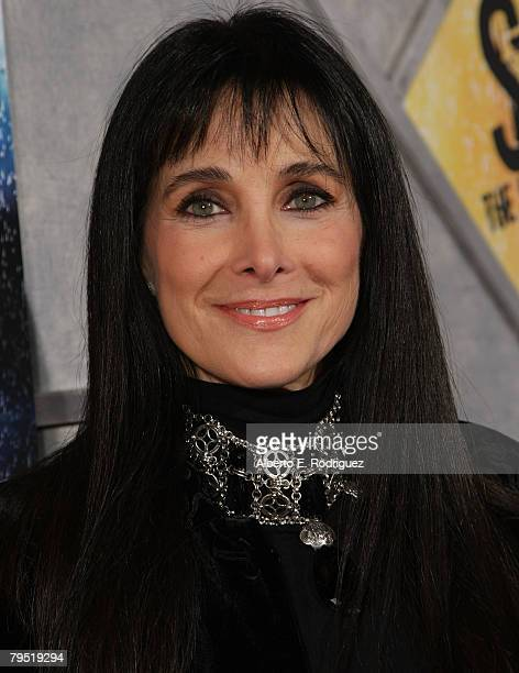 Actress Connie Sellecca arrives at the world premiere of Touchstone Pictures' Step Up 2 The Streets held at the Arclight Theaters on February 4 2008...