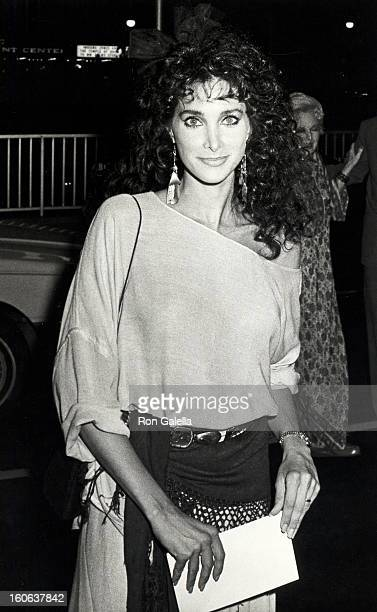 Actress Connie Sellecca attending 'ABC TV Fall Press Party' on September 19 1984 at the Century Plaza Hotel in Century City California