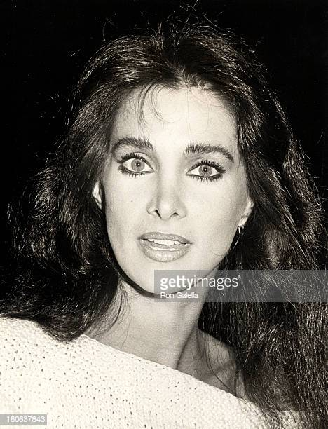 Actress Connie Sellecca attending the opening of Nine on May 24 1984 at the Dorothy Chandler Pavilion in Los Angeles California
