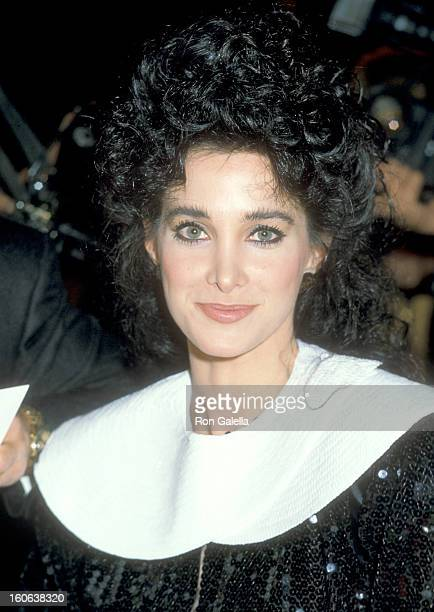 Actress Connie Sellecca attends the 14th Annual NAACP Image Awards on December 4 1983 at Hollywood Palladium in Hollywood California