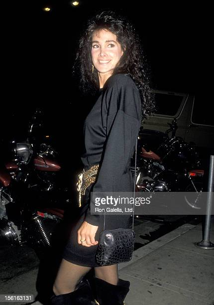 Actress Connie Sellecca attends the '1969' Los Angeles Premiere Party on October 27, 1988 at Park Plaza Hotel in Los Angeles, California.
