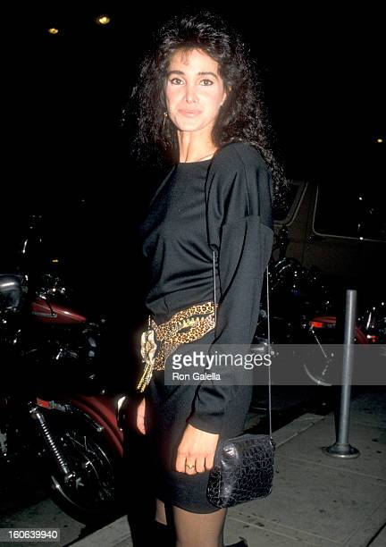 Actress Connie Sellecca attends the '1969' Los Angeles Premiere Party on October 27 1988 at Park Plaza Hotel in Los Angeles California
