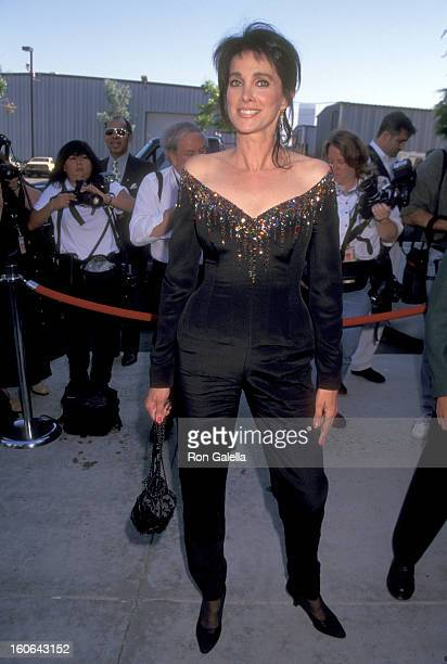 Actress Connie Sellecca attends the 1996 Family Film Awards on August 22 1996 at CBS Studios in Los Angeles California