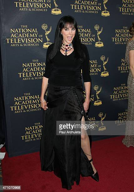 Actress Connie Sellecca attends the 42nd Annual Daytime Creative Arts Emmy Awards at The Universal Hilton Hotel on April 24, 2015 in Universal City,...