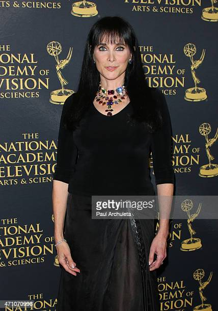 Actress Connie Sellecca attends the 42nd Annual Daytime Creative Arts Emmy Awards at The Universal Hilton Hotel on April 24 2015 in Universal City...