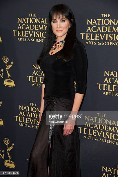 Actress Connie Sellecca attends the 42nd Annual Daytime Creative Arts Emmy Awards at Universal Hilton Hotel on April 24 2015 in Universal City...