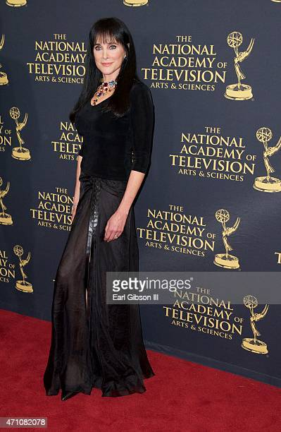 Actress Connie Sellecca attends the 42nd Annual Daytime Creative Arts Emmy Awards at Universal Hilton Hotel on April 24, 2015 in Universal City,...