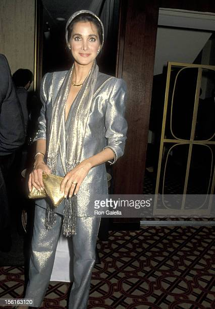 Actress Connie Sellecca attends the First Annual American Cinematheque Award Honoring Eddie Murphy on February 28, 1986 at Century Plaza Hotel in Los...