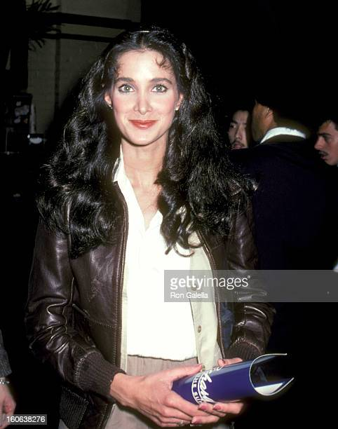 """Actress Connie Sellecca attends the """"Richard Pryor - Live on Sunset Strip"""" Westwood Premiere on March 11, 1982 at Mann Westwood Theatre in Westwood,..."""