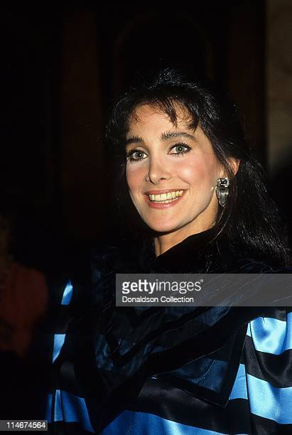 Actress Connie Sellecca poses for a portrait in 1985 in Los Angeles, California.