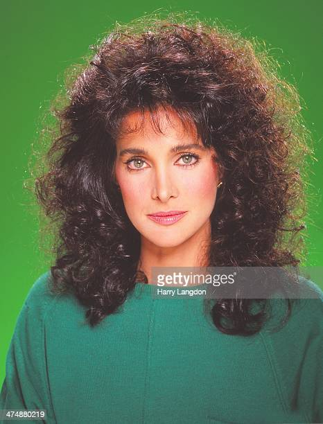 Actress Connie Sellecca poses for a portrait in 1986 in Los Angeles California