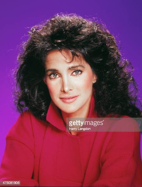 Actress Connie Sellecca poses for a portrait in 1986 in Los Angeles, California.