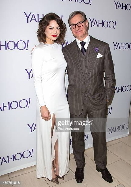 """Actress Conor Leslie and Producer Paul Feig attend the launch party for Paul Feig's new show """"Other Space"""" at The London on April 14, 2015 in West..."""