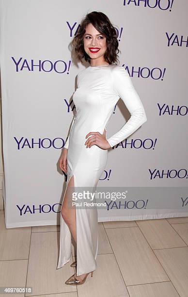 Actress Conor Leslie arriving at Paul Feig's new show launch party for 'Other Space' at The London on April 14 2015 in West Hollywood California