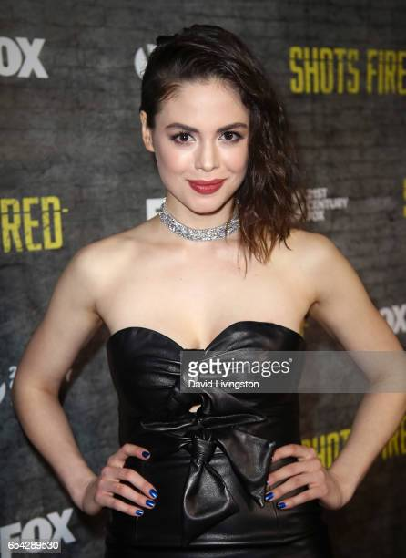 Actress Conor Leslie attends a screening and discussion of FOX's 'Shots Fired' at Pacific Design Center on March 16 2017 in West Hollywood California