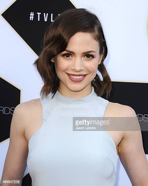 Actress Conor Leslie attends the 2015 TV LAND Awards at Saban Theatre on April 11 2015 in Beverly Hills California