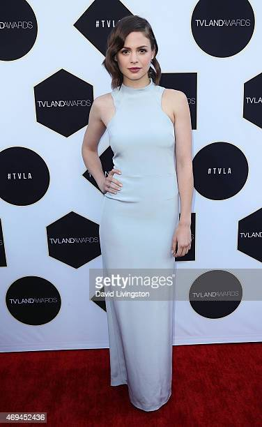 Actress Conor Leslie attends the 2015 TV Land Awards at the Saban Theatre on April 11 2015 in Beverly Hills California