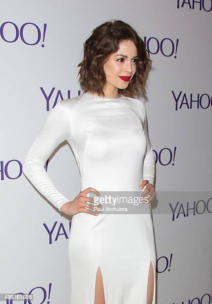 """Actress Conor Leslie attends the launch party for Paul Feig's new show """"Other Space"""" at The London on April 14, 2015 in West Hollywood, California."""