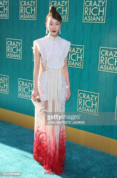 Actress Constance Lau attends the premiere of Warner Bros Pictures' 'Crazy Rich Asians' in Hollywood California on August 7 2018