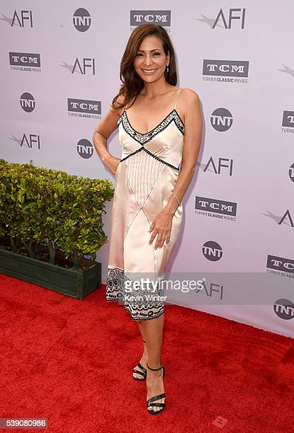 Actress Constance Marie arrives at American Film Institute's 44th Life Achievement Award Gala Tribute to John Williams at Dolby Theatre on June 9...