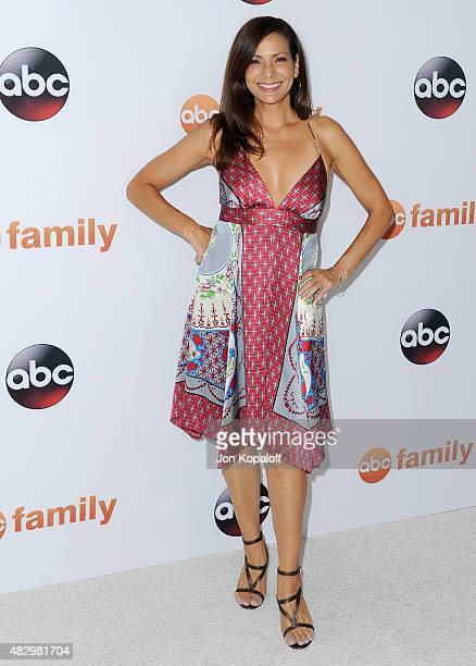 Actress Constance Marie arrives at Disney ABC Television Group's 2015 TCA Summer Press Tour at the Beverly Hilton Hotel on August 4 2015 in Beverly...