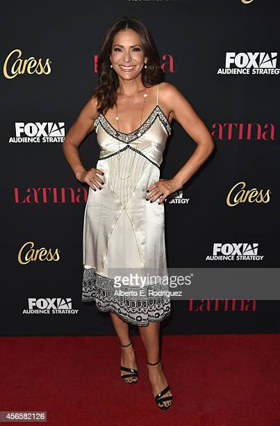 Actress Constance Marie attends LATINA Magazine's Hollywood Hot List party at the Sunset Tower Hotel on October 2 2014 in West Hollywood California