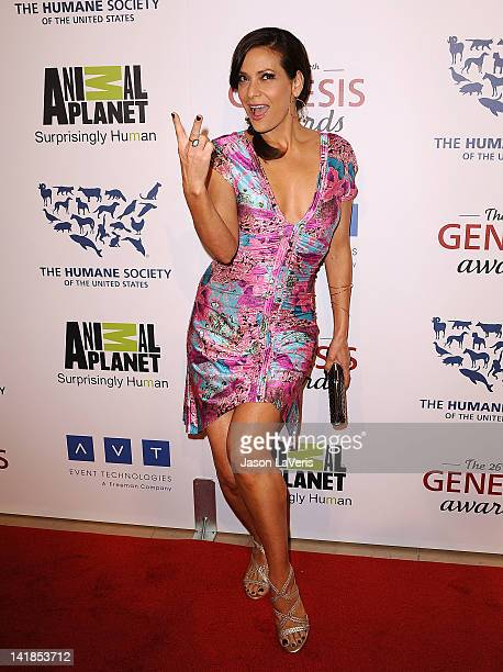 Actress Constance Marie attends the 26th Genesis Awards at The Beverly Hilton Hotel on March 24 2012 in Beverly Hills California