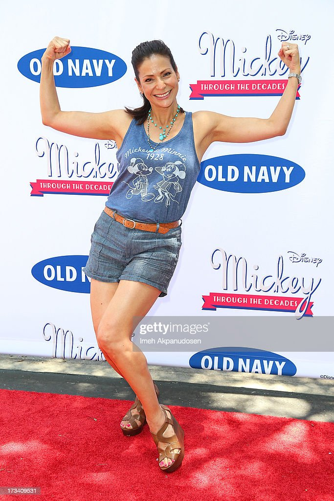 Actress Constance Marie attends the Old Navy & Disney's 'Mickey Through The Decades' Collection Celebration at Walt Disney Studios on July 13, 2013 in Burbank, California.